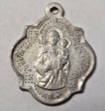 St. JOSEPH MODELE DE PURETE P.P.M. Vintage Silver Tone Religious Medal