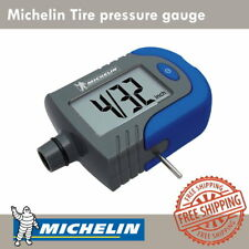 New Michelin MN-4203 Digital Tire Pressure Gauge with Tread Depth Indicator