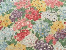 Sanderson Curtain Fabric COTTAGE GARDEN 2.6m Blackcurrant Vintage 2 Design 260cm