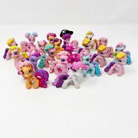 Vintage My Little Pony G3.5 Ponyville Mini Figures Lot of 20
