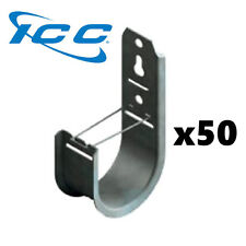 """Icc 50 Pack 2"""" J-Hook Wall Ceiling Mount Route Network Cable Wires Iccmsjhk44 x2"""