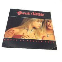 "Great White 'House Of Broken Love' UK 1989 Vinyl 7"" Single EX-/VG Very Clean!"