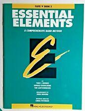 Essential Elements, Bk. 2 - Comprehensive Band Method, Choose Flute or Trumpet