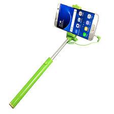 HUAWEI Ideos X3 Selfie Stick - Foto Stange mit Soft Grip AUX - Selfies 1 Grün