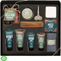 MAN'STUFF MEGA MAN DRAWER Toiletry Bath Body Male Grooming Gift Face Wash Xmas