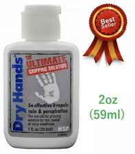 Dry Hands - Ultimate Grip Solution - Golf - Pole Fitness - Tennis - Bowls - 2oz