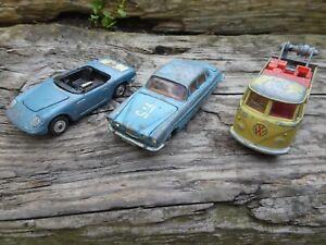 Dinky Corgi joblot X 3 Jaguar Mk10, Corgi VW, Corgi Lotus Elan S2