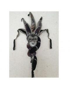 Maske Stab Deko Venizianische Venezia Barock Maskenball Dekorationsmaske