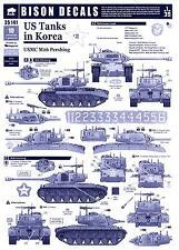 Bison Decals 1/35 U.S. TANKS IN KOREA #2 USMC M26 Pershing Tank