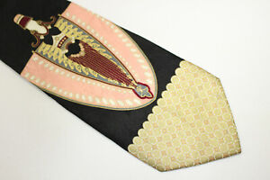 TED LAPIDUS Silk tie Made in Italy F9057