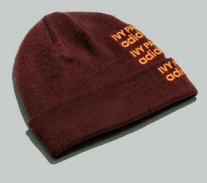 IVY PARK X Adidas Logo Beanie Hat, Maroon - Beyonce