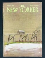 COVER ONLY ~ The New Yorker Magazine, June 11, 1966 ~ Andre Francois