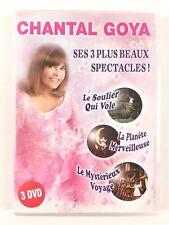 DVD Chantal Goya Le Soulier Qui vole La Planète Merveilleuse Mystérieux Voyage
