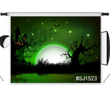 Halloween Night Vinyl Backdrop Photography Background Props Studio Prop 7X5FT