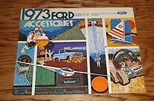 Original 1973 Ford Accessories Sales Brochure 73 Mustang Bronco Thunderbird