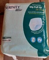 80 Pannoloni A Mutandina  misura M Serenity slip pul up Be Free Super per adulti