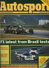 Autosport Jan 26th 1984 *Endurance Racing Review*