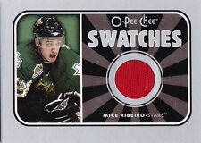 06-07 OPC Mike Ribeiro Jersey Swatches OPEECHEE Stars 2006
