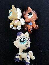 Littlest Pet Shop Horse Pony & Accessories Lot Authentic Lot of 3