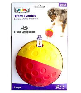 Outward Hound Treat Tumble Dog Toy Large - Brain Exercise Game By Nina Ottosson