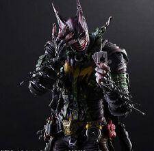 Rogues Gallery Joker Action Figure Toy Doll NIB 099999999 Play Arts Kai Batman