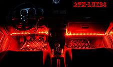 2x fußraumbeleuchtung turismos rojo red LED strip barra de 33cm 18 SMD 12v ip65 nuevo Top