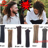 12'' Men's Hippies Dreadlocks Synthetic Crochet Braiding Dreads Hair Extensions