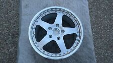 "RUF PORSCHE NEW ZOLL-MODULAR 3 PIECE FACTORY (1) SINGLE  18"" REAR WHEEL BY OZ"