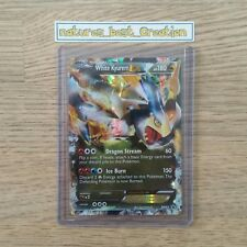 MINT/NM Condition White Kyurem EX BW63 Holo/Shiny, Pokemon Card, Black Star Rare