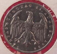 1922-A GERMANY--WEIMAR REP.--3 MARK--BETTER GRADE