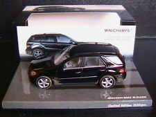 MERCEDES M KLASSE ML 500 W164 2005 BLACK DIRTY VERSION MINICHAMPS 436034500 1/43