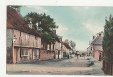 Westham Old Houses Sussex Vintage Postcard 202a