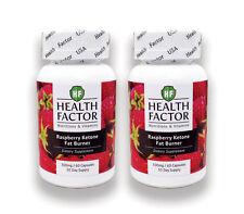 100% Natural Raspberry Ketone & Green Tea Extract. Fat Burner (2 Bottles)