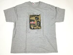 NWOT NASCAR #8 Dale Jr. Budweiser 2006 Chase Authentics 2 Sided 2XL Grey Shirt