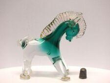 Sommerso Figurine Vintage Original Glass