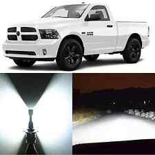 Alla Lighting High Beam Headlight 9005 LED Bulb for Ram 1500 2500 w/ 4 Headlamps