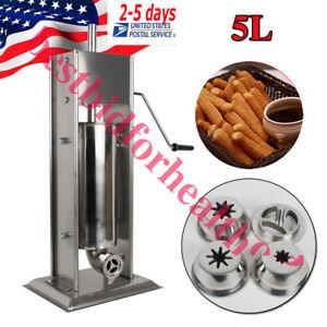 5L Manual Spanish Churro Maker Churro Fast Make Machine