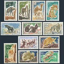 Mauritania 134-145,Mnh.Michel 204-215. Wild mammals,Chameleon,1963.