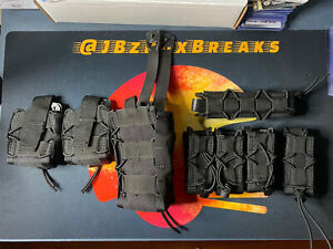 High Speed Gear Duty Triple Pistol Taco, Single Taco, Handcuff x2 & Baton Taco