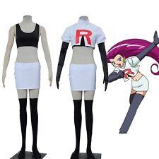 Pocket Game Anime Pokemon Team Rocket James Jesse Cosplay Costume Custom Size