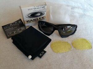 Oakley Jawbone Matte Black - Black Iridium/Yellow - MINT