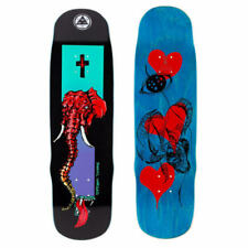 Tavola da Skateboard Welcome Daniel Vargas Tusk on Effigy Black 8.80'' + Grip