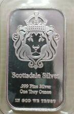 Willie: Scottsdale Silver 1oz 999.9 bar
