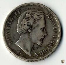 BAYERN, Ludwig II., 5 Mark, 1876 D, Jg. 42, schön