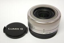 Panasonic G Vario 12-32 mm Asph. OIS  gebraucht absolut neuwertig silber (KS )