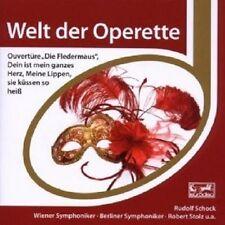 RUDOLF/BES SCHOCK - ESPRIT/WELT DER OPERETTE  CD NEU