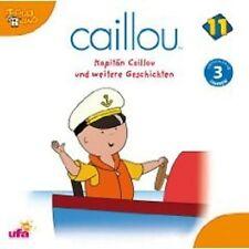 CAILLOU 11 CD KINDERHÖRBUCH NEU