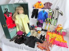 American Girl Doll (Kirsten Just Like You) Case and Clothes Lot 1995