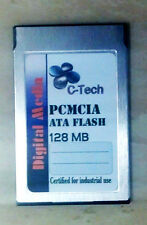 128MB ATA Flash PC Card (PCMCIA)