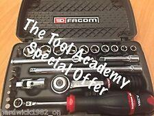 FACOM SPECIAL LAST FEW! 1/4 DRIVE SOCKET SET RATCHET EXTENSIONS & MORE RRP £145